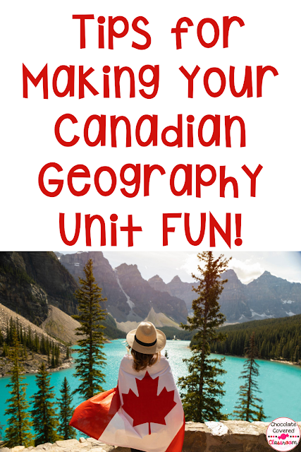 canadian geography made fun a blog post about engaging lessons for landforms natural resources and climate of canada's geographical regions