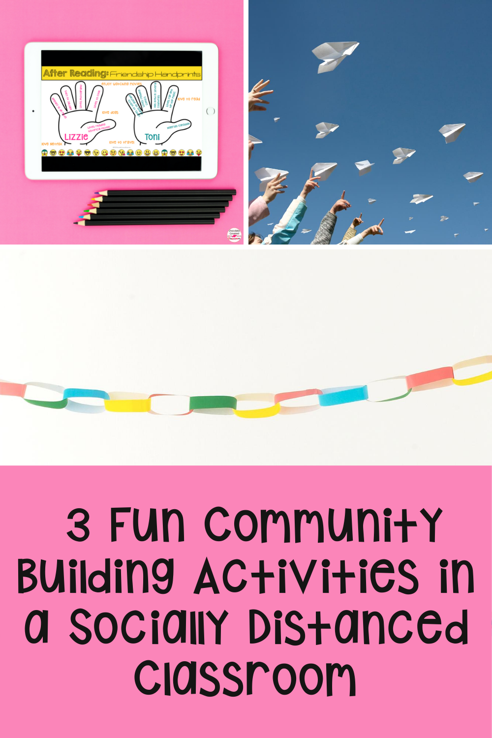 3 Fun Community Building Back to School Activities in a Socially Distanced Classroom