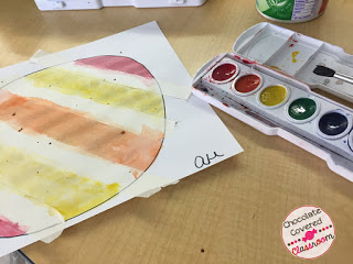 Art project for International Dot Day with Upper Elementary Kids