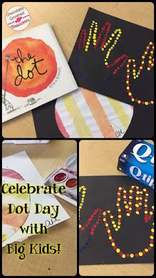 Celebrating International Dot Day with Upper Elementary Students