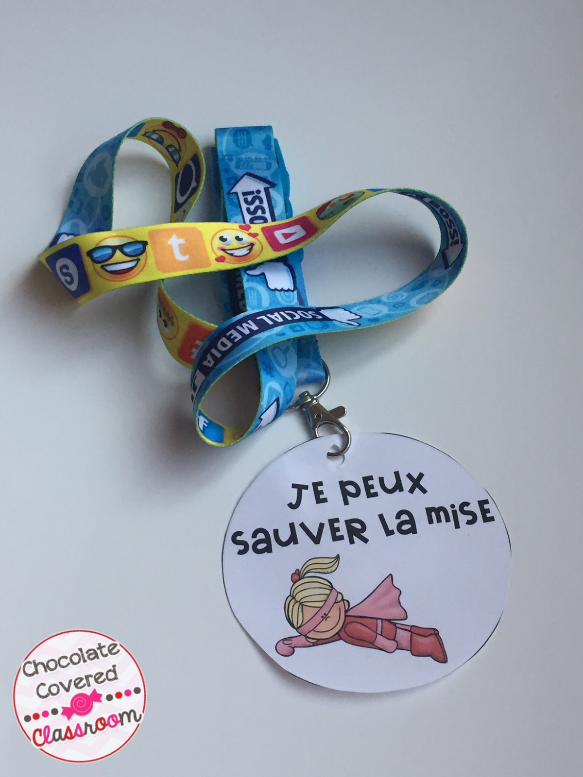 Preparing for a Substitute Teacher in the Second Language Classroom - FREE Student Leader Tags