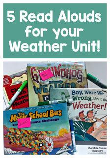 5 best books about weather for upper elementary classes