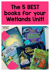 the best books for your wetlands or ponds science unit in upper elementary, perfect for alberta grade 5 teachers