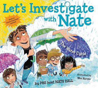 let's investigate with Nate the water cycle book for teaching the water cycle