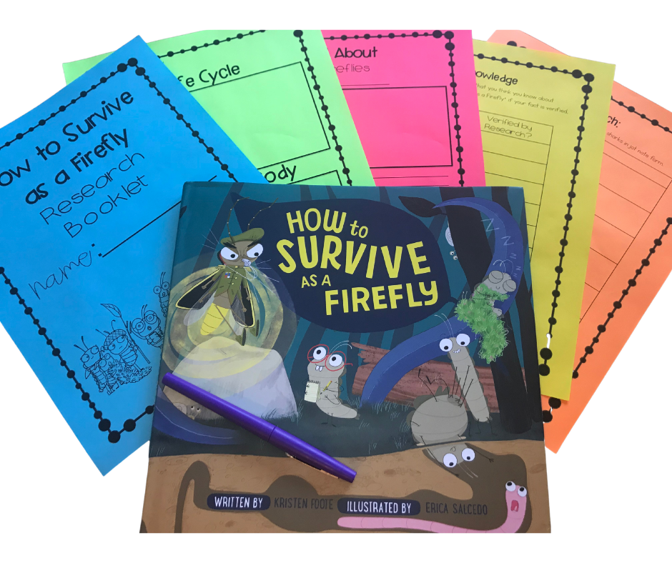 How to survive as a firefly interactive read aloud worksheets and activities