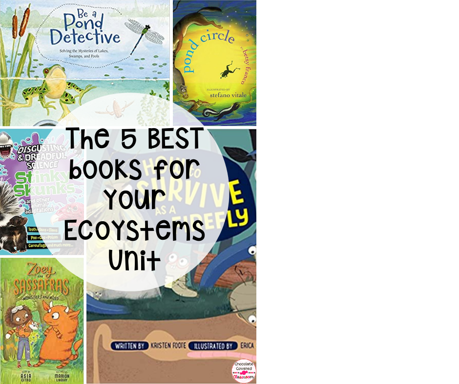 The 5 best books for your ecosystems unit