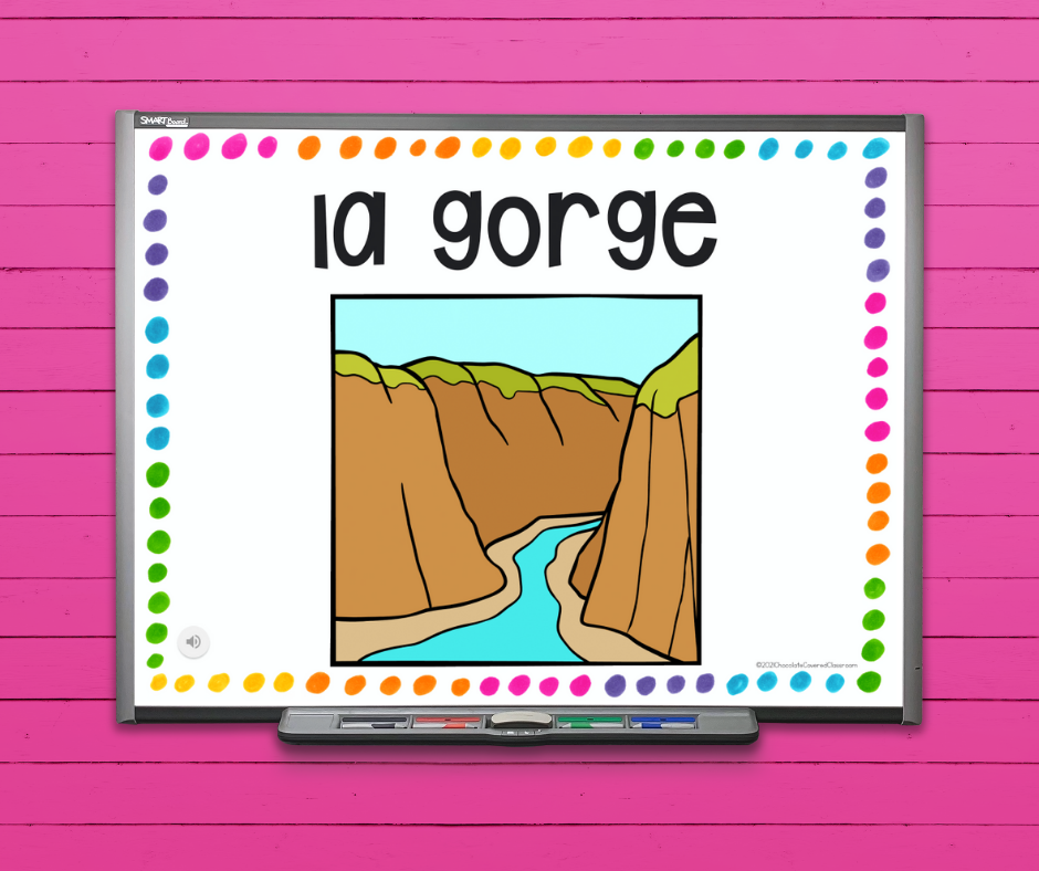 the ultimate guide to teaching landforms in your core French or French as a Second Language Class