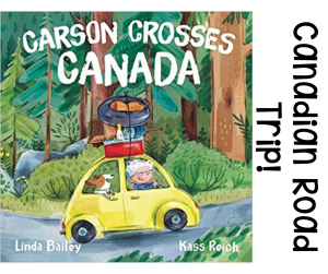 a great picture book for teaching Canadian Geography in the upper elementary classroom