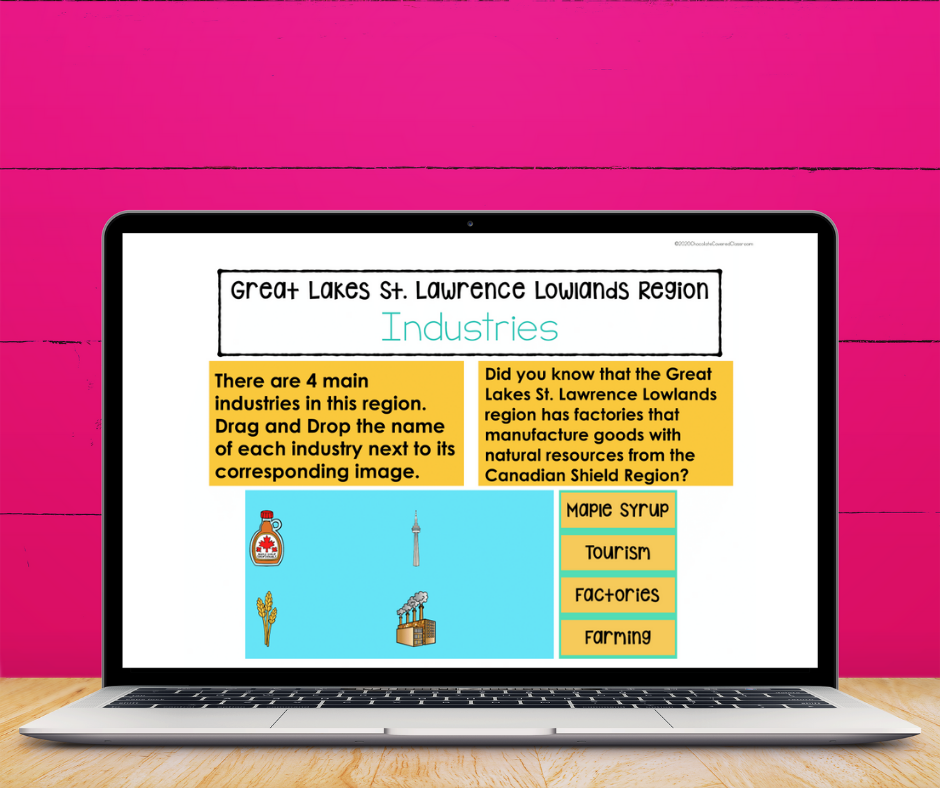 Learn About Canada's Geographical Regions with this fun and engaging unit!