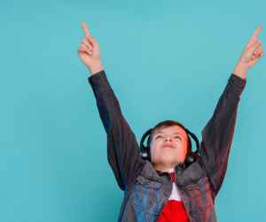kids love listening to music in the french as a second language classroom
