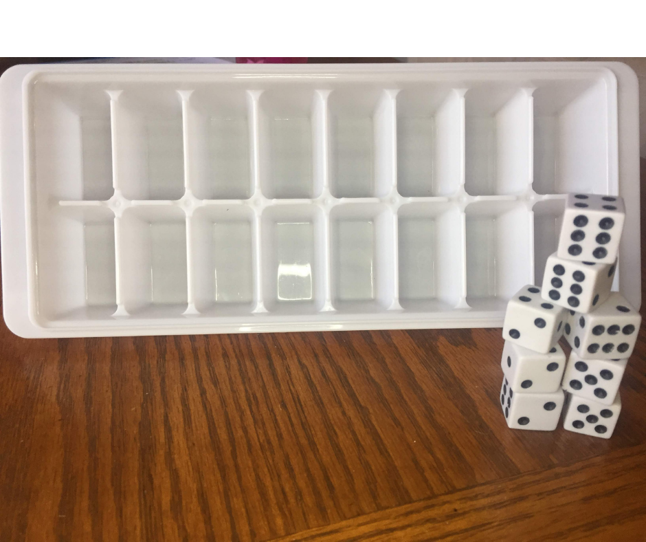 comparing and ordering numbers dice game