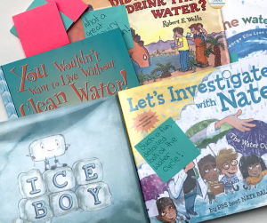 5 picture books for kids about water and the water cycle, perfect for science class