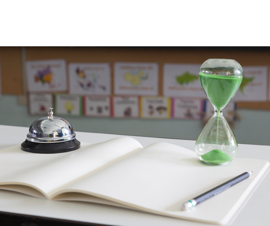 using a timer to keep your mini lessons short
