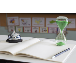 timer in classroom - keeping your mini lessons mini