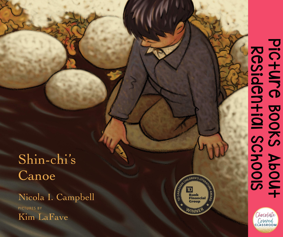 shin-chi's canoe picture books about residential schools