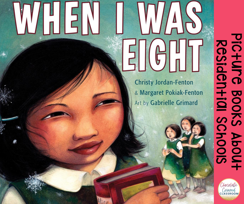 when i was eight picture books about residential schools