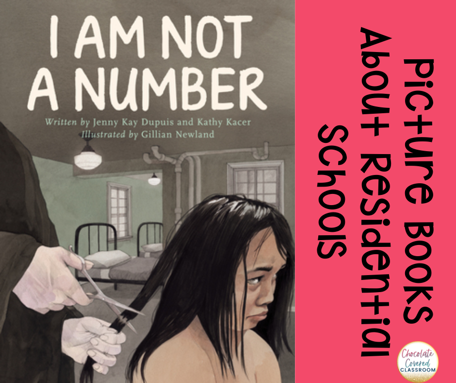 I am Not a Number Interactive read aloud for a picture book about residential schools