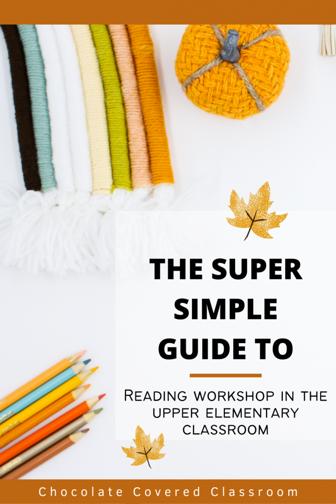 5 important routines for the upper elementary reading workshop
