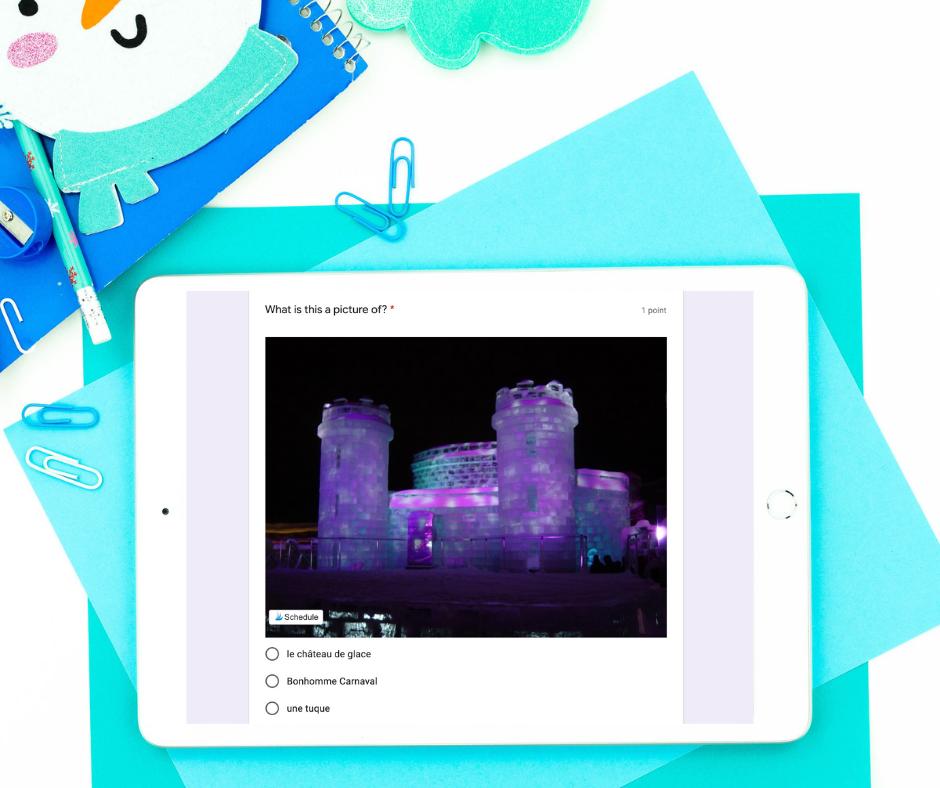 Carnaval de Québec digital quiz