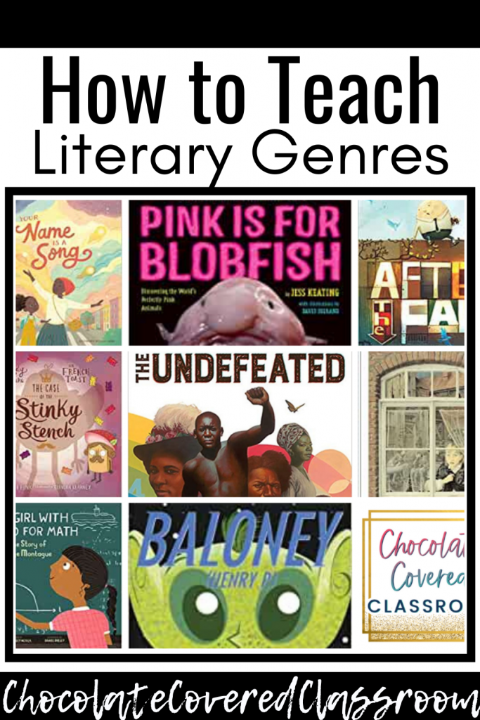 ideas for teaching genre in the upper elementary reading workshop classroom